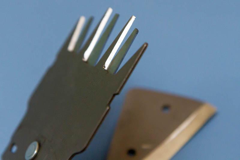 заточка ледоруба, ножа для кустореза