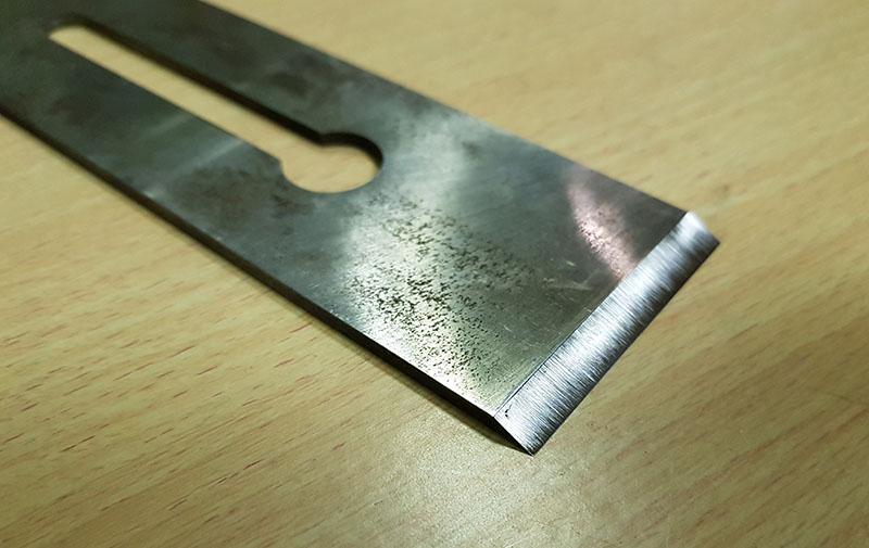 заточка ножа рубанка